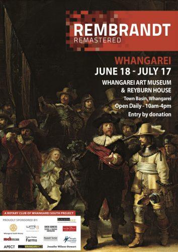 Rembrandt Poster_A4_Whangarei copy