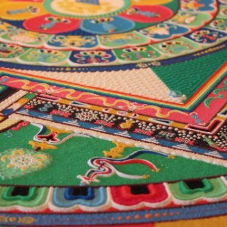 Medicine Buddha Sand Mandala